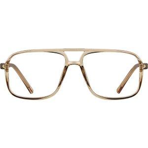 Brown Aviator Glasses #232912 | Zenni Optical Eyeglasses