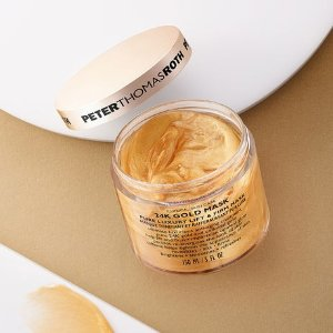 Last Day: $1824K Gold Mask @ Peter Thomas Roth