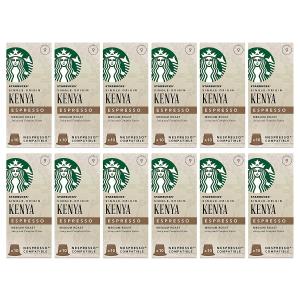 好价¥333Starbucks 肯尼亚浓缩咖啡胶囊 120粒装