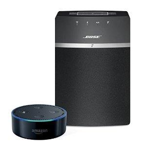 £164.95,增加幸福感的好物Bose SoundTouch 10 + Echo Dot 2代智能影音组合热卖