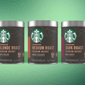 From $9.12New Release: Starbucks Premium Instant