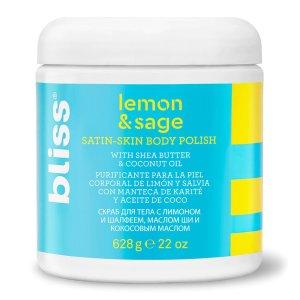 BlissLemon & Sage Satin-Skin Body Scrub