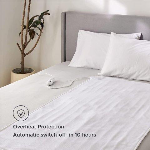 4.4折起 低至€21.79可收Amazon 电热毯合集 寒冬必备保暖神器 温度可调、可机洗