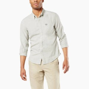DockersIcon Button-Up Shirt, Slim Fit