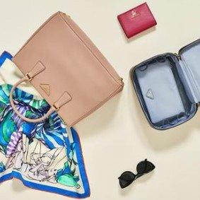 低至2.4折+至高额外减$50独家:PRADA 精选美包、墨镜配饰专场 粉色杀手包超美