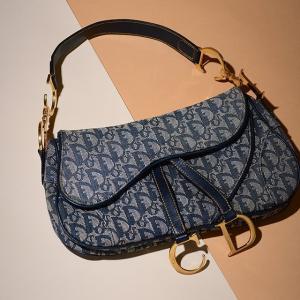 3折起+独家立减£30 老花钱包£105独家:Dior 精致二手包包配饰专场 收马鞍包、老花款、丹宁款等