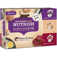 Rachael Ray Nutrish 海鲜味无谷猫湿粮罐头 2.8oz 12罐