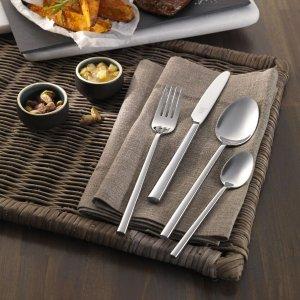 Zwilling可洗碗机洗刀叉勺子餐具68件
