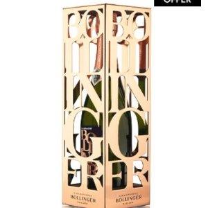 $185 (原价$187)邦德最爱Bollinger Rosé 2006 限量版香槟