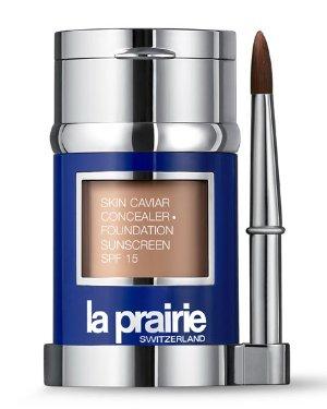 La Prairie Skin Caviar Concealer and Foundation Sunscreen SPF 15, 1.0 oz./ 30 mL | Neiman Marcus