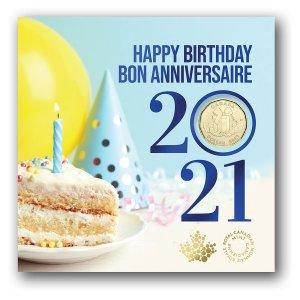 5枚套币$21.95起Canada Post 2021年纪念币 结婚、生日送人收藏选择