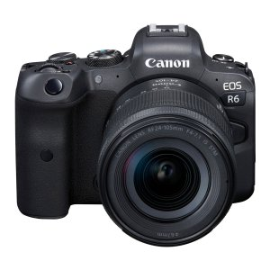 CanonCanon EOS R6 Mirrorless Digital Camera with RF 24-105mm f/4-7.1 IS STM Lens