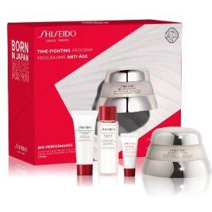 7折! €44收 内含50ml正装面霜Shiseido 资生堂 百优面霜套装史低 提拉丰盈 对松弛肌说不