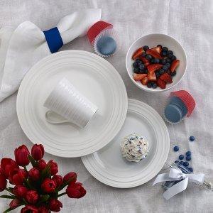 $90(The Bay$180)Mikasa Ciara 顶级白骨瓷餐具16件套装 吃出来的高级感