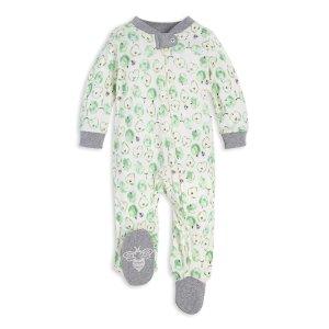 Burt's Bees Baby婴童有机棉连体睡衣 宽松版