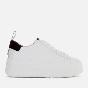 Ash厚底小白鞋