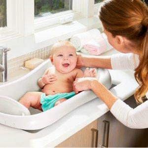 $14.32 同款不同色$19.99The First Years 婴幼儿浴盆,带网兜也适合新生儿,白色