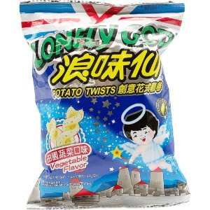 Want-Want Lonely God Potato Twists Vegetable Flavor