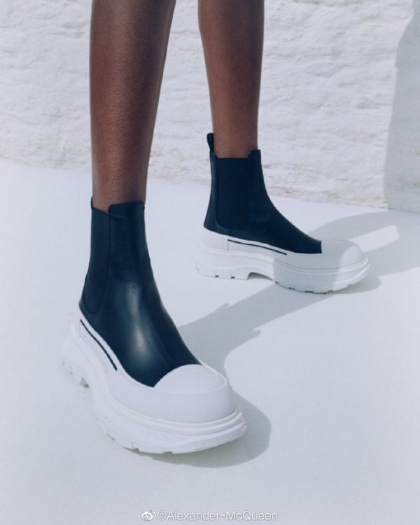 厚底切尔西靴