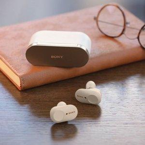 $248(原价$299.99)Sony WF-1000XM3 无线降噪豆 两色可选