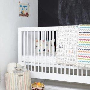 8折 畅销口水巾、床笠补货Petit Pehr 儿童床上用品、口水巾、储物篮等特卖