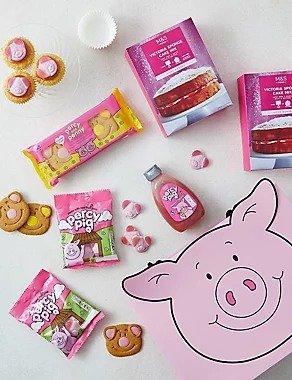 粉红猪零食大礼包