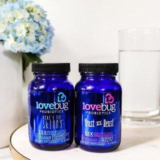 $10.68(原价$24.26)独家:Lovebug Probiotics 益生菌保健品