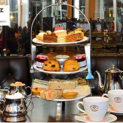 两人£19起(原价£25)2种套餐可选Patisserie Valerie 下午茶限时回归 英国最受欢迎甜品店