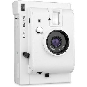 White Camera + Fujifilm box Frame + Chambray Demin Bag + 10 PK Film