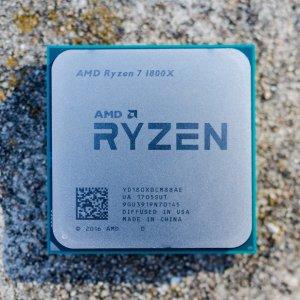 $299.99 (原价$499.99)AMD Ryzen 7 1800X 3.6GHz 8C16T AM4 处理器
