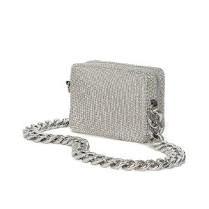 Crystal Mesh Camera Bag
