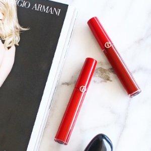 9折+好礼Giorgio Armani 美妆护肤品热卖 入小胖丁,红管等
