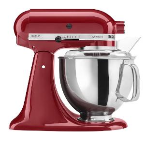 $369.98包邮(原价$511.33)KitchenAid Artisan 4.7升厨师机 经典帝王红 面食小能手上线