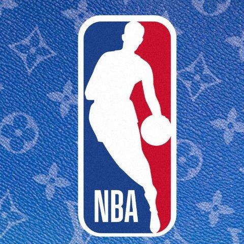 NBA总冠军奖杯已抵达Louis Vuitton x NBA 全新联名系列 经典老花辅以蓝红白配色