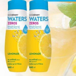 $3.98(原价$7.99)史低价:SodaStream 0卡柠檬味气泡水调味剂 440ml