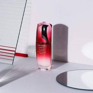 满$150送价值$50积分 变相6.7折Shiseido 护肤品 美妆热卖 收红腰子、防晒、蜜露精华