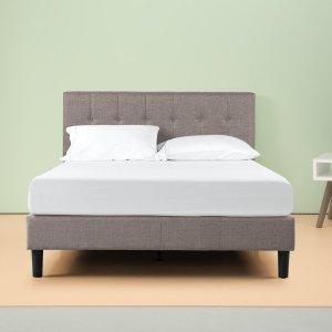 From $169.4Zinus Brandy Upholstered Vertical Detailed Platform Bed Frame