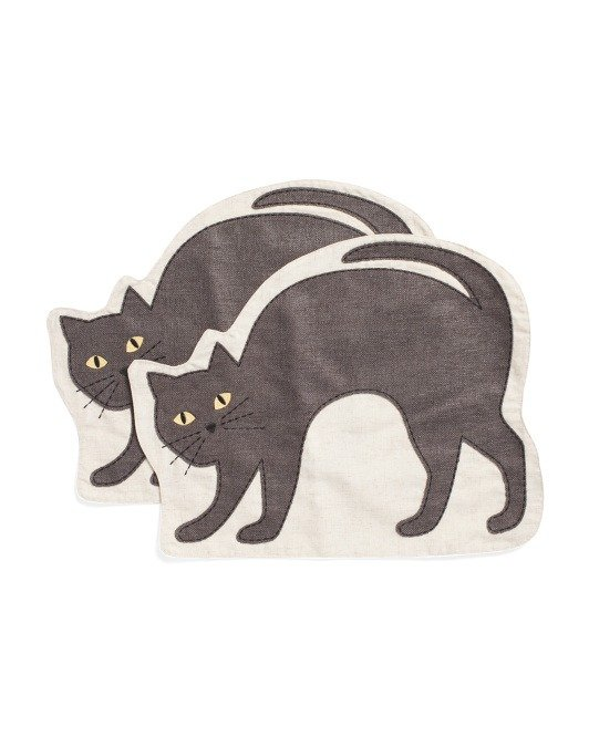 猫来了餐垫2个