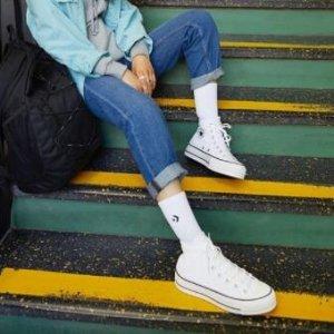 低至6.9折+低至额外7.5折Converse 运动鞋服热卖 收nabi同款70、开口笑