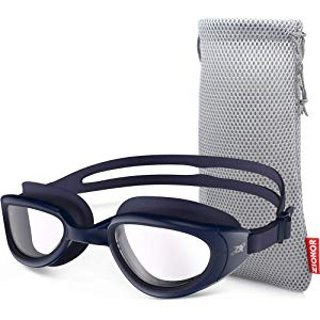 $10.99 包邮Zionor 防雾偏光泳镜 + 携带包 多色可选