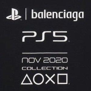 T恤竟然比PS5主机还贵?上新:BALENCIAGA x PlayStation 合作推出PS5联名服饰