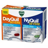 Vicks DayQuil & NyQuil 白加黑感冒胶囊