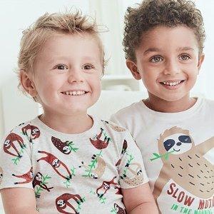 两件套$6起折扣升级:Carter's官网 儿童新款睡衣4折两日热卖,宅家必备