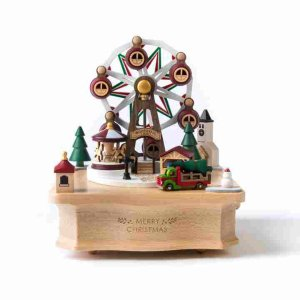 Christmas Ferris Wheel Music Box - Music Boxes - Gifts