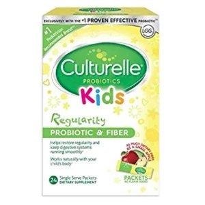 立减$2 $16.59起+包邮Culturelle 婴幼儿、儿童益生菌特卖,促进肠道健康