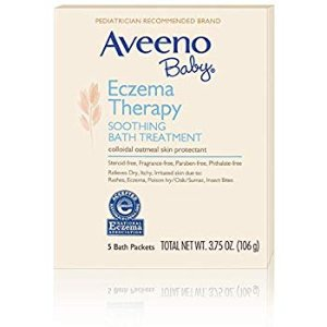 Aveeno Baby Eczema Therapy Soothing Bath Treatment (2 Pack)