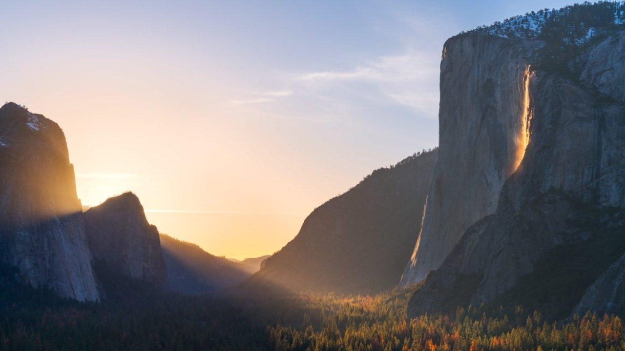优胜美地火瀑布Firefall 2020观景期到啦,一年只有10天的加州奇观不要错过!