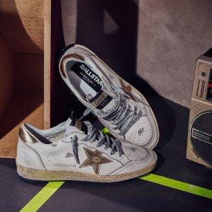 定价优势+8.5折+免邮NAP英国站时尚大促,GG小脏鞋£268,Acne笑脸开衫£180