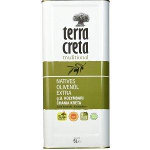 Terra Creta特级初榨橄榄油 5升 9.2折特价