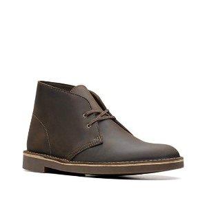 现价$52.99(原价$100)补货:Clarks  Bushacre 2 经典色经典款男士鞋热卖
